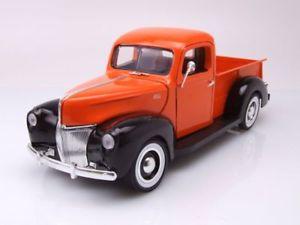 【おしゃれ】 【送料無料】模型車 モデルカー スポーツカー オレンジブラックフォードピックアップモデルカーヒート, e-家電館 60b557c3