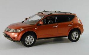 【送料無料】模型車 モデルカー スポーツカー ムラーノメタリックコレクションnissan murano copper metallic 2005 jcollection 143 jc052