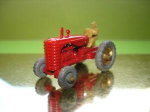 【送料無料】模型車 モデルカー スポーツカー モコマッチマッシーハリストターmatchbox 175 moko lesney nr 4 b massey harris tractor 1957 41mm metallr