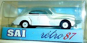 【送料無料】模型車 モデルカー スポーツカー プジョーカブリオレサイpeugeot 203 cabriolet ouvert wei sai 3231 h0 187 ovp  *