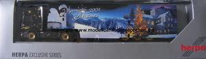 【送料無料】模型車 モデルカー スポーツカー シリーズスカニアメリークリスマスherpa 004 herpa exclusiv series scania r tl sz, merry christmas 2004,h0, neu ovp