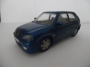 【送料無料】模型車 モデルカー スポーツカー シトロエン143ime maquette paradcar n107 citroen saxo bleue