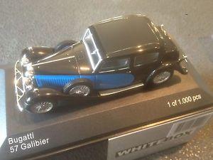 【送料無料】模型車 モデルカー スポーツカー ブガッティモデルカーショップwhitebox bugatti 57 galibier 143 modelcar wb123 berlinettamodelcars shop