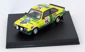 【送料無料】模型車 モデルカー スポーツカー フォードエスコートグラムモロッコラリーford escort rs 2000 gchassseuilpchonez 1st gr1 marocco rally 1979 143 trofeu