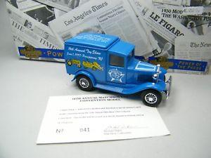 【送料無料】模型車 モデルカー スポーツカー マッチフォードマッチアメリカmatchbox moy c2 y22 ford a matchbox usa 16th treffen blau ovp bilder k08