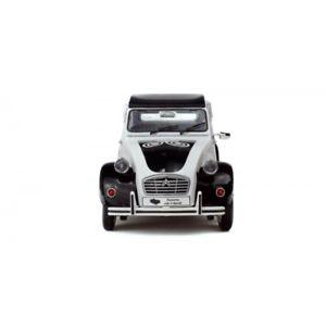 【送料無料】模型車 モデルカー スポーツカー シトロエンブラックホワイトcitroen 2 cv 6 bzh schwarz wei 421183990 118 solido