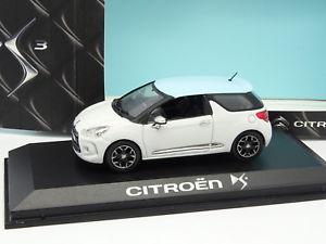 【送料無料】模型車 モデルカー スポーツカー シトロエンブランシュnorev 143 citroen ds3 blanche