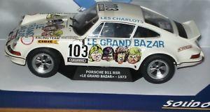 【送料無料】模型車 モデルカー スポーツカー ポルシェルグランバザールsolido porsche 911 rsr le grand bazar 1973