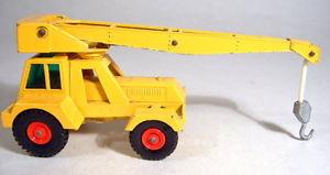 【送料無料】模型車 モデルカー スポーツカー matchbox kingsize k14a taylor jumbo crane komplett in gelb