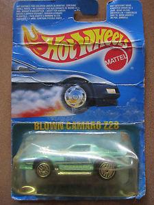 【送料無料】模型車 モデルカー スポーツカー ホットホイールカマロヨーロッパボックスオンhot wheels mattel blown camaro z28 european box 1989