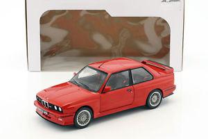 【送料無料】模型車 モデルカー スポーツカー bmw m3 e30 baujahr 1990 rot 118 solido