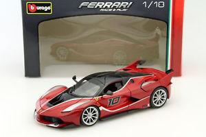 【送料無料】模型車 モデルカー スポーツカー フェラーリ#ferrari fxxk 10 rot schwarz 118 bburago