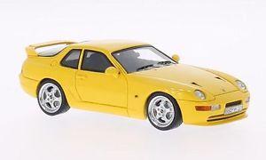 【送料無料】模型車 モデルカー スポーツカー ポルシェターボネオporsche 968 turbo s yellow 1993 neo 143 43839
