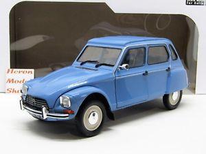 【送料無料】模型車 モデルカー スポーツカー シトロエンcitroen dyane 6 1974 bleu myosotis 118 solido novita
