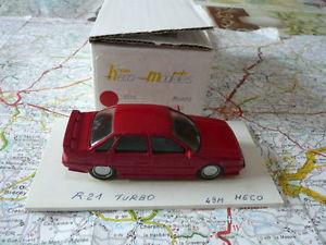 【送料無料】模型車 モデルカー スポーツカー ルノーターボキットヒコrenault 21 turbo ancien kit rsine hco modeles