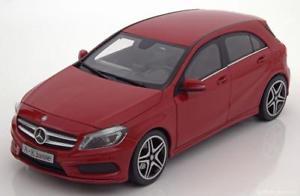 【送料無料】模型車 モデルカー スポーツカー メルセデスクラス118 norev mercedes aclass w176 2012 red