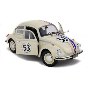 【送料無料】模型車 モデルカー スポーツカー ビートルフォルクスワーゲンビートルsolido s1800505 volkswagen kfer beetle 1303 herbie 118