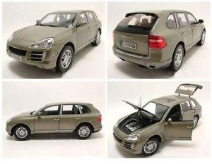 【送料無料】模型車 モデルカー スポーツカー ポルシェカイエンオリーブグリーンメタリックモデルカーporsche cayenne s 2006 olivgrn metallic, modellauto 118 norev
