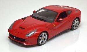 【送料無料】模型車 モデルカー スポーツカー ホットホイールフェラーリレッドハット118 hot wheels ferrari f12 berlinetta 2012 red
