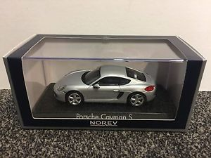 【送料無料】模型車 モデルカー スポーツカー ポルシェケイマンシルバーporsche cayman s 2013 silver 143 norev