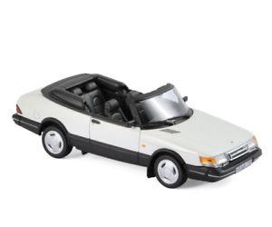 【送料無料】模型車 モデルカー スポーツカー サーブターボカブリオレホワイトsaab 900 turbo 16 cabrio 1992 wei 143 norev 81043 neu ovp
