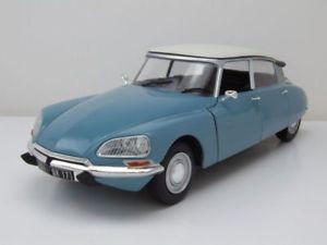 【送料無料】模型車 モデルカー スポーツカー シトロエンモデルカーcitroen ds special 1972 blauwei, modellauto 118 solido
