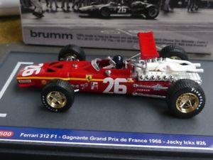 【送料無料】模型車 モデルカー スポーツカー ハムフェラーリグランプリドフランスジャッキーイクス#