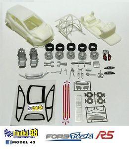 【送料無料】模型車 モデルカー スポーツカー フォードフィエスタキットford fiesta r5   kit montaggio