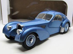 【送料無料】模型車 モデルカー スポーツカー ブガッティタイプアトランティックbugatti type 57 sc atlantic 1937 118 solido