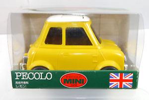 【送料無料】模型車 モデルカー スポーツカー ミニクーパーコンテンツpecolo mini cooper gelb yellow auto parfmflasche ohne inhalt mit ovp k52