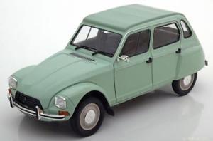 【送料無料】模型車 モデルカー スポーツカー シトロエンライトグリーン118 solido citroen dyane 6 1967 lightgreen