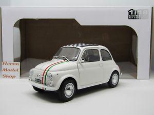 【送料無料】模型車 モデルカー スポーツカー フィアットイタリアfiat 500 italia 118 solido novit