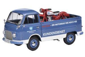 【送料無料】模型車 モデルカー スポーツカー フォードプラットフォームサービスschuco 03287 143 ford fk 1000 pritsche mit nsumax nsu service neu