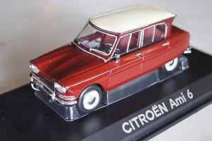 【送料無料】模型車 モデルカー スポーツカー シトロエンcitroen ami 6 1967 rotwei 143 norev neu ovp