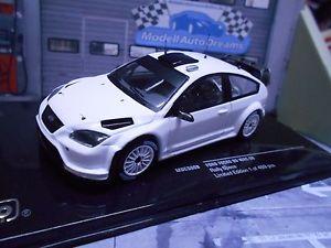 【送料無料】模型車 モデルカー スポーツカー フォードフォーカスラリーテストプレーンボディネットワークford focus rs wrc plain b rallye specs test white plainbody wheelset ixo 143