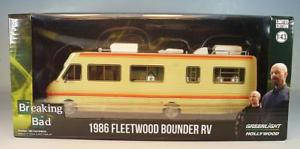 【送料無料】模型車 モデルカー スポーツカー ライトフリートウッド#greenlight 143 fleetwood bounder rv 1986 wohnmobil breaking bad ovp 2125