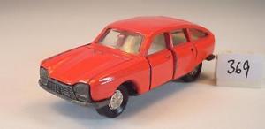 【送料無料】模型車 モデルカー スポーツカー シトロエンセダンパーツレッド#majorette 165 nr 201 citroen gs limousine rot, missing parts 369