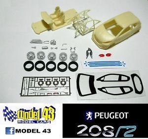 【送料無料】模型車 モデルカー スポーツカー プジョーキットpeugeot 208 r2   kit montaggio