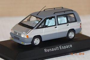 【送料無料】模型車 モデルカー スポーツカー ルノーエスパスシルバーrenault espace 1984 silber 143 norev neu amp; ovp 518013