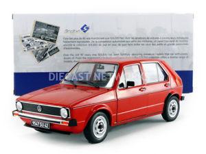 【送料無料】模型車 モデルカー スポーツカー フォルクスワーゲンゴルフsolido 118 volkswagen golf l 1984 1800204