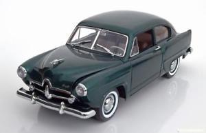 【送料無料】模型車 モデルカー スポーツカー サンスターカイザーヘンリーグリーンメタリック118 sunstar kaiser henry j 1951 greenmetallic