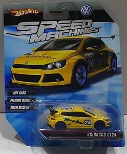 【送料無料】模型車 モデルカー スポーツカー ホットホイールスピードマシンイエローhot wheels 2010 speed machines scirocco gt24 yellow r8510