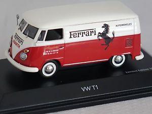 【送料無料】模型車 モデルカー スポーツカー ボックスフェラーリvw t1 kasten ferrari rotwei 143 schuco 3698 neu amp; ovp