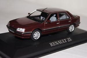 【送料無料】模型車 モデルカー スポーツカー ルノーダークレッドrenault 25 tx dunkelrot 1990 143 norev neu amp; ovp 512954