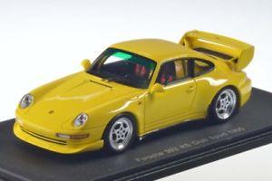 【送料無料】模型車 モデルカー スポーツカー スパークポルシェクラブスポーツイエローspark porsche 993 rs club sport 1995 yellow 143 s4194