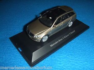 【送料無料】模型車 モデルカー スポーツカー メルセデスベンツクラスモデルmercedes benz s 204 c klasse t modell 2008 elegance sadinibeige 143 neu