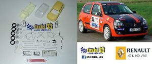 【送料無料】模型車 モデルカー スポーツカー ルノークリオキットrenault clio rs   kit montaggio
