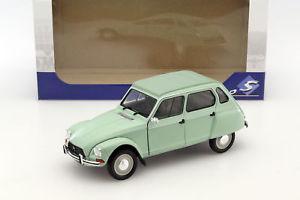 【送料無料】模型車 モデルカー スポーツカー シトロエンcitroen dyane 6 baujahr 1967 jade grn 118 solido
