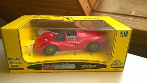 【送料無料】模型車 モデルカー スポーツカー フェラーリモデルカーferrari 330 p4 1967  modellauto 118 jouef evolution in ovp