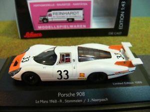 【送料無料】模型車 モデルカー スポーツカー ポルシェルマン143 schuco porsche 908 le mans 1968 r stommelenj neerpasch 450372100